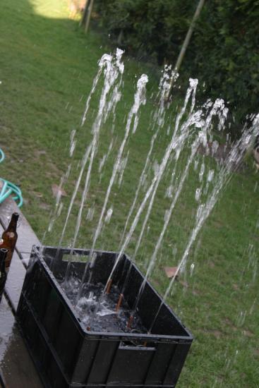 Tests de nettoyeur de bouteilles maison... no comment :)
